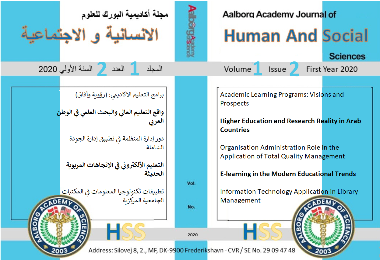 Aalborg Academy Journal of Human and Social Sciences